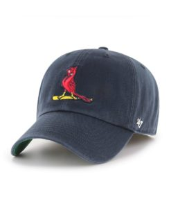 St. Louis Cardinals 47 Brand Cooperstown Navy Franchise Fitted Hat