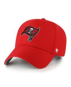 Tampa Bay Buccaneers 47 Brand Red MVP Adjustable Hat
