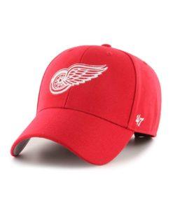 Detroit Red Wings 47 Brand Red MVP Adjustable Hat