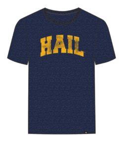 Michigan Wolverines Men's 47 Brand Hail Navy T-Shirt Tee