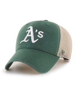 Oakland Athletics 47 Brand Dark Green MVP Mesh Snapback Hat