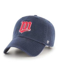 Minnesota Twins 47 Brand Cooperstown Navy Clean Up Adjustable Hat