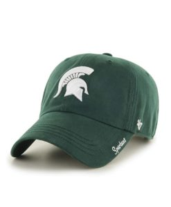Michigan State Spartans Women's 47 Brand Miata Dark Green Clean Up Adjustable Hat