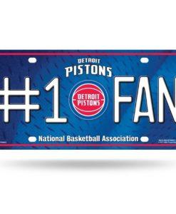 Detroit Pistons #1 Fan License Plate