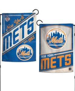 New York Mets 12.5″x18″ 2 Sided Cooperstown Garden Flag