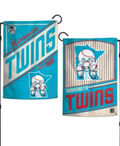 Minnesota Twins 12.5″x18″ 2 Sided Cooperstown Garden Flag