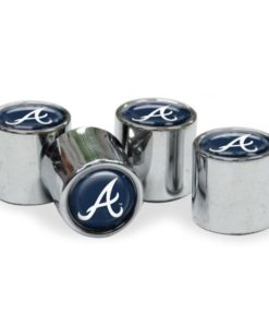 Atlanta Braves Tire Valve Stem Caps