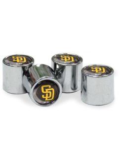 San Diego Padres Tire Valve Stem Caps