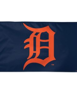 Detroit Tigers 3' x 5' Road Navy Orange Deluxe Flag