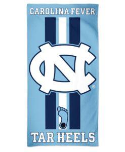 North Carolina Tar Heels 30″ x 60″ Fiber Beach Towel