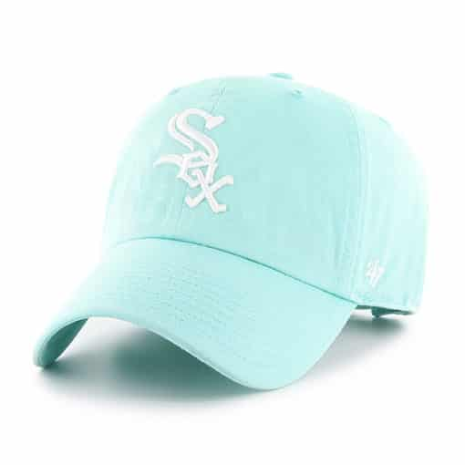 Chicago White Sox Women's 47 Brand Tiffany Blue Clean Up Adjustable Hat
