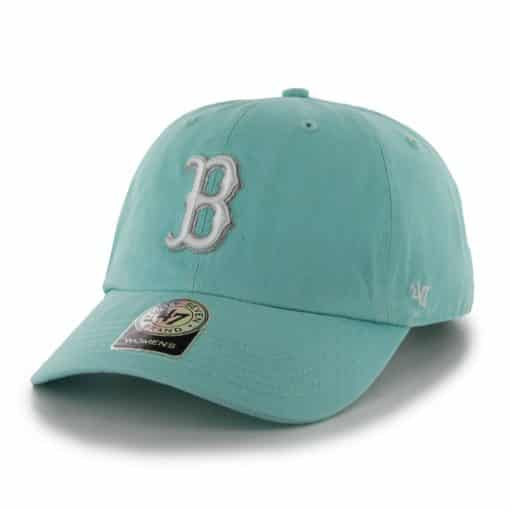 Boston Red Sox Women's 47 Brand Tiffany Blue Clean Up Adjustable Hat