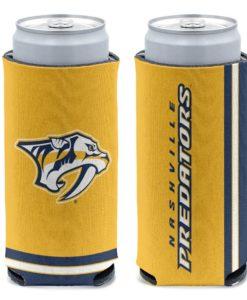 Nashville Predators 12 oz Yellow Slim Can Cooler Holder