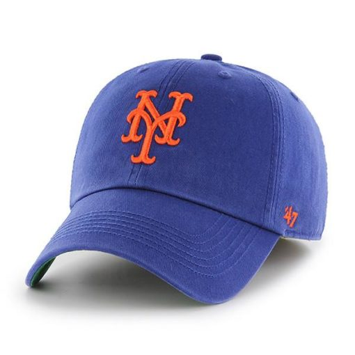 New York Mets 47 Brand Blue Franchise Fitted Hat