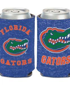 Florida Gators 12 oz Heather Blue Can Cooler Holder