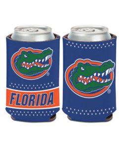 Florida Gators 12 oz Bling Blue Can Cooler Holder