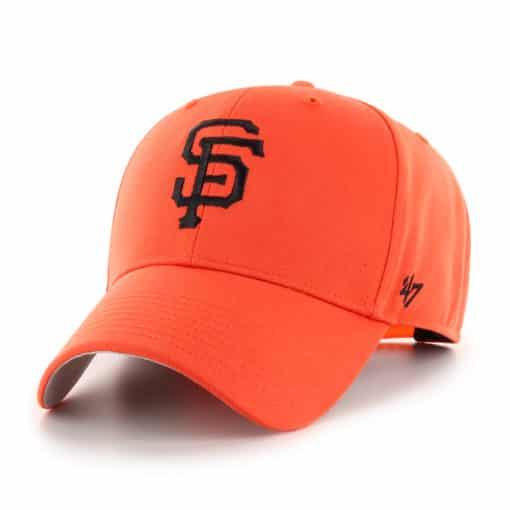San Francisco Giants KIDS 47 Brand Orange MVP Adjustable Hat