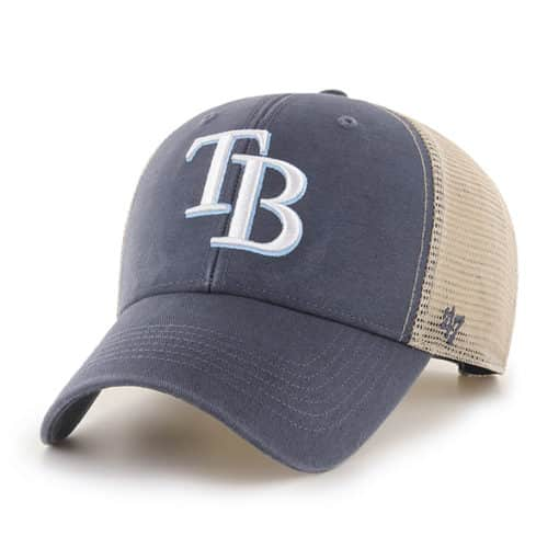 Tampa Bay Rays 47 Brand Vintage Navy MVP Mesh Snapback Hat