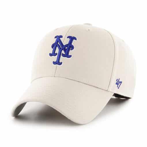 New York Mets 47 Brand Bone MVP Adjustable Hat