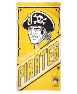 """Pittsburg Pirates 30"""" x 60"""" Cooperstown Spectra Beach Towel"""