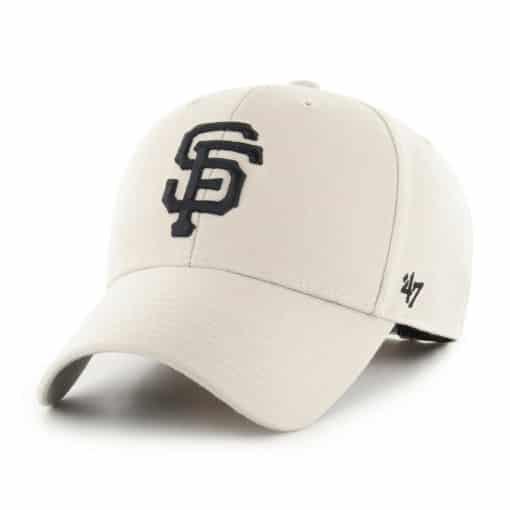 San Francisco Giants 47 Brand Bone MVP Adjustable Hat
