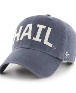 Michigan Wolverines 47 Brand Hail Vintage Navy Clean Up Adjustable Hat