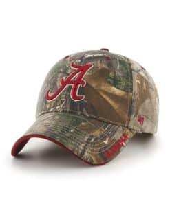Alabama Crimson Tide 47 Brand Realtree Camo Frost MVP Adjustable Hat
