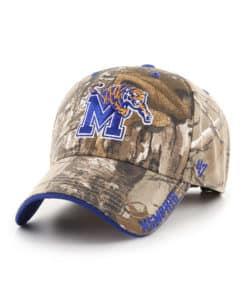 Memphis Tigers 47 Brand Realtree Camo Frost MVP Adjustable Hat