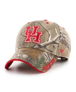 Houston Cougars 47 Brand Realtree Camo Frost MVP Adjustable Hat