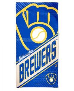 "Milwaukee Brewers 30"" x 60"" Cooperstown Spectra Beach Towel"