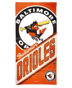 "Baltimore Orioles 30"" x 60"" Cooperstown Spectra Beach Towel"