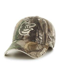 Baltimore Orioles 47 Brand Frost Camo MVP Adjustable Hat